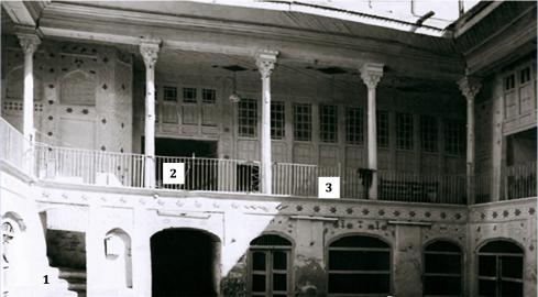 House of Bahaullah in Baghdad (after restoration in 1930-ties)