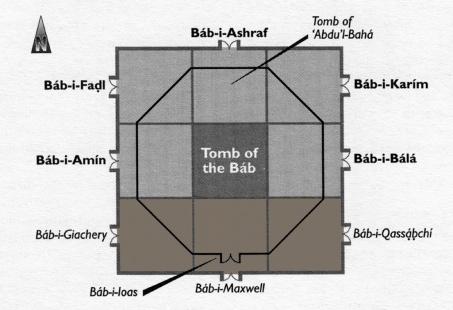Shrine of the Bab - Doors-1